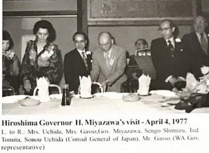 Gov. Miyazawa and Kenshin Treatments
