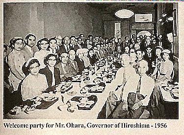 Governor Ohara from Hiroshima Prefecture
