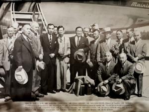 Governor and Mayor of Hiroshima visits